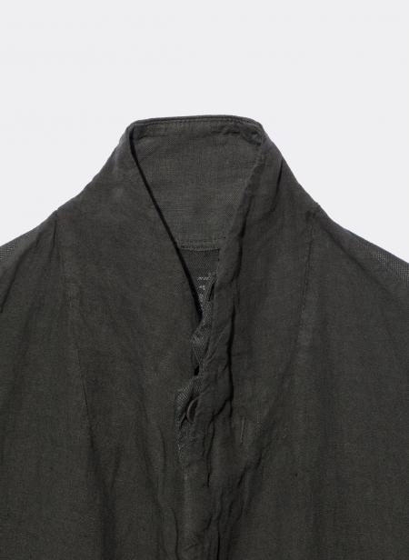 Veste déstructurée en lin
