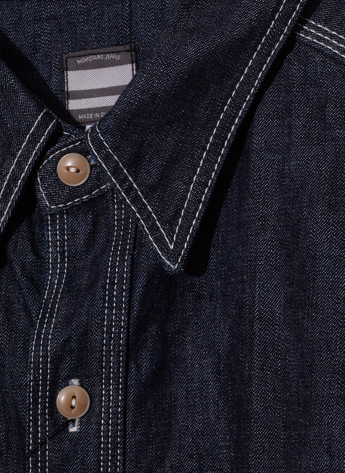 1286e5f9bd9 Elevation Store Paris - 10 oz selvedge raw shirt
