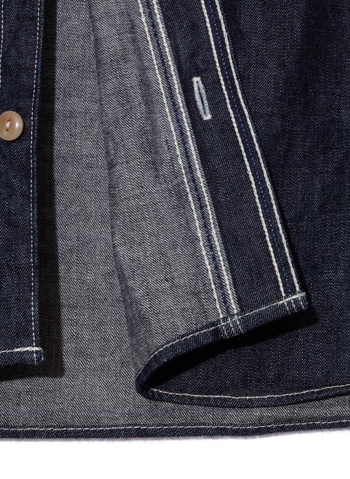 10 oz selvedge raw shirt