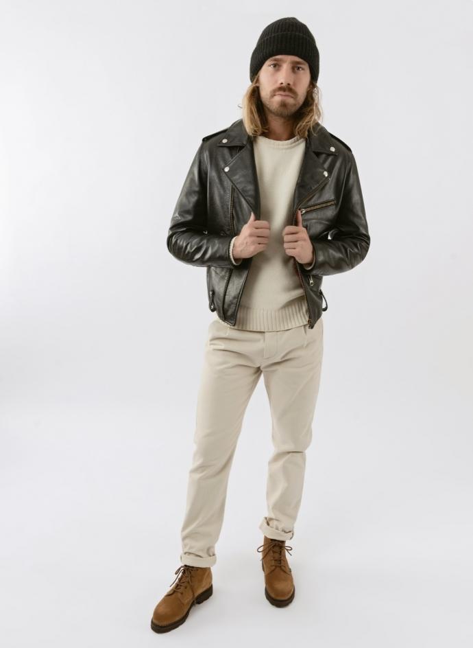 Perfecto Bucco Fortela Leather Jacket
