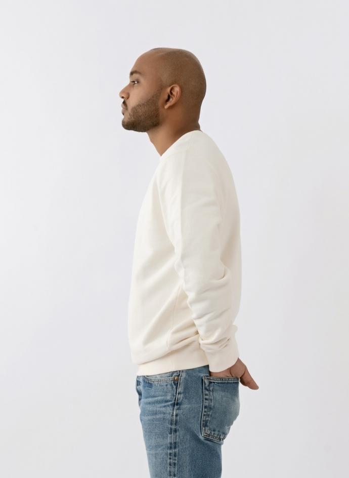 """Sweatshirt """" V-neck """" Sunspel"""