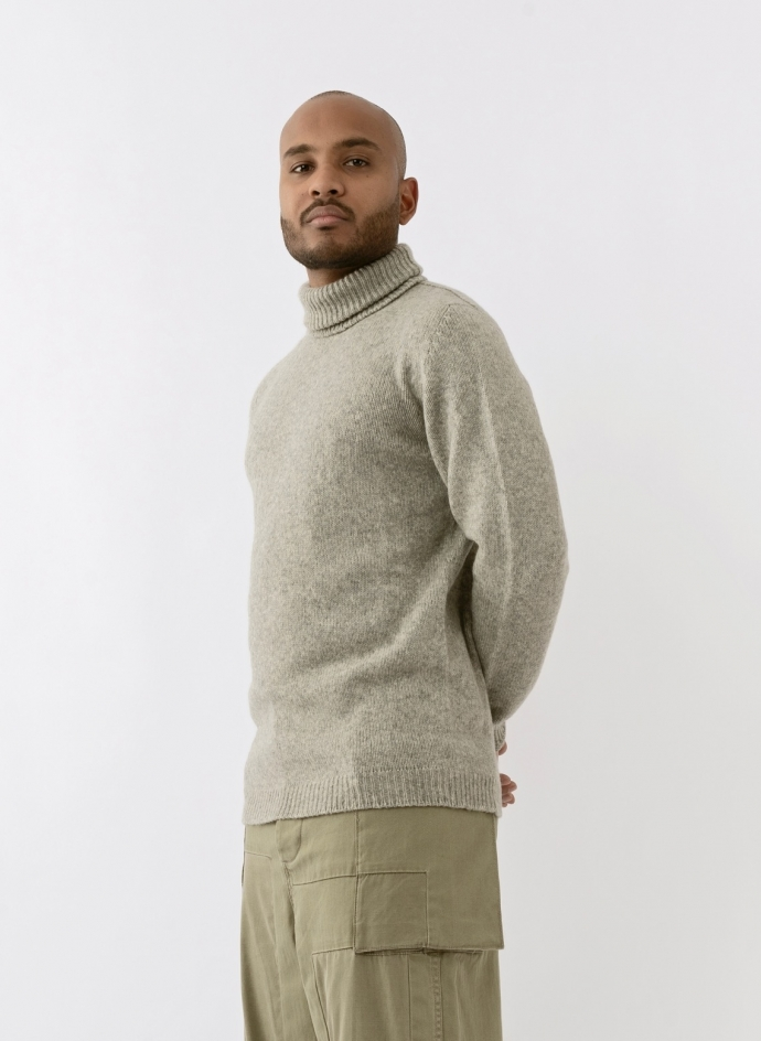 Pull Col Roulé Baby Camel