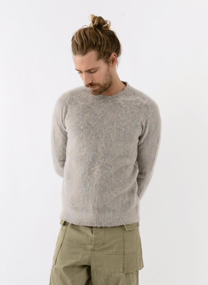 Pull Chiné Mohair