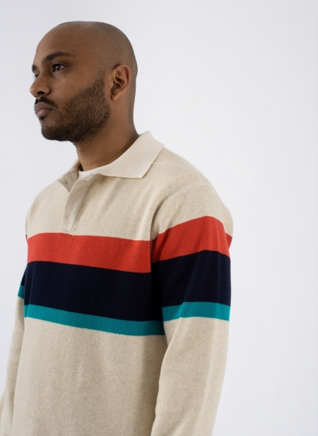 Heavy Knit Polo