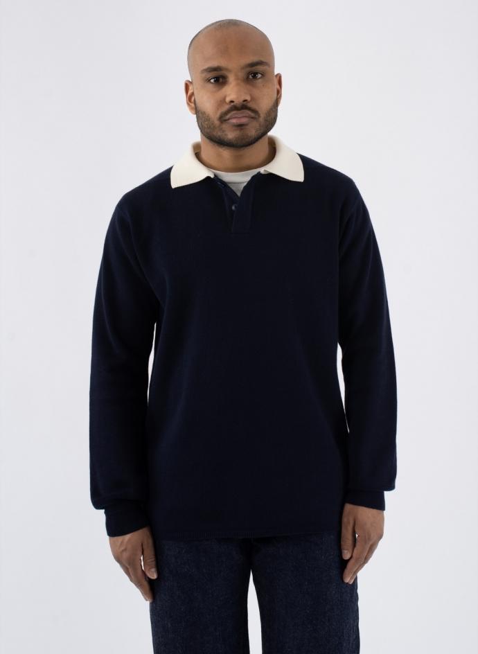 Heavy Knit Polo