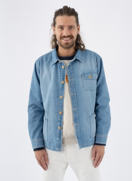 Overshirt Japanese Denim Washed