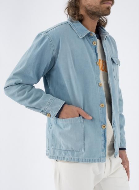 Overshirt Japanese Denim Washed