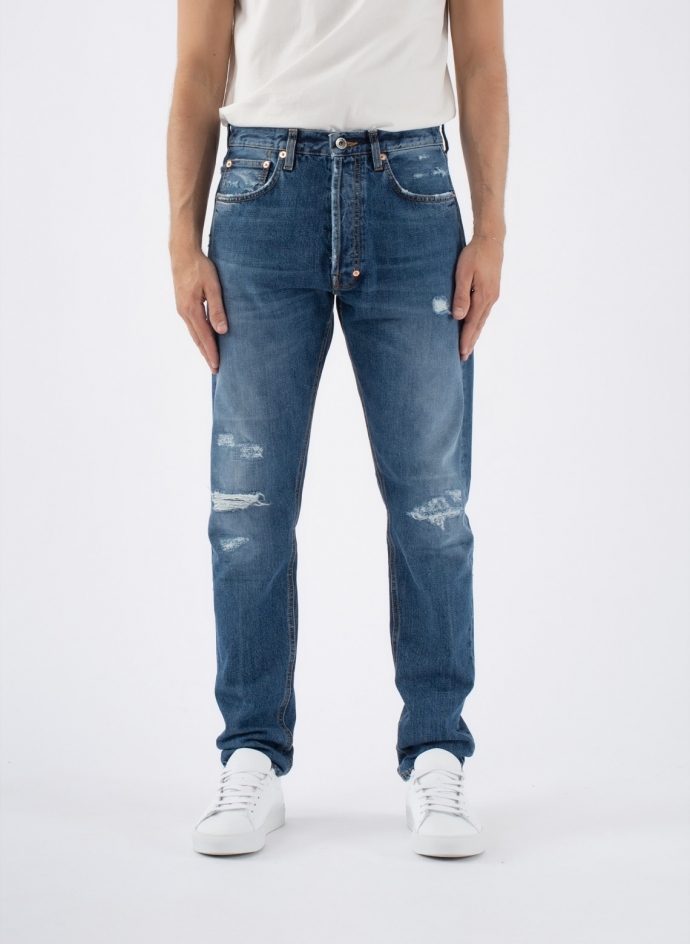 Thunderbird Denim Medium Wash Purple Label