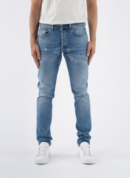 Windsor Crop Denim Light Wash Candiani Denim