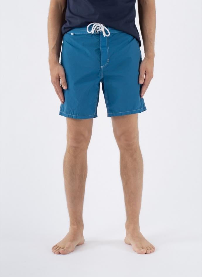 Bathing Suit Retro Nylon Stretch Garment Dyed