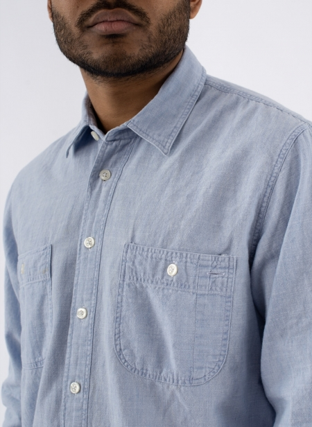 Chemise Kansas Japanese Selvedge Chambray