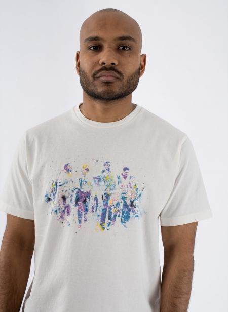 T-shirt Jersey Groupies Hand Paint