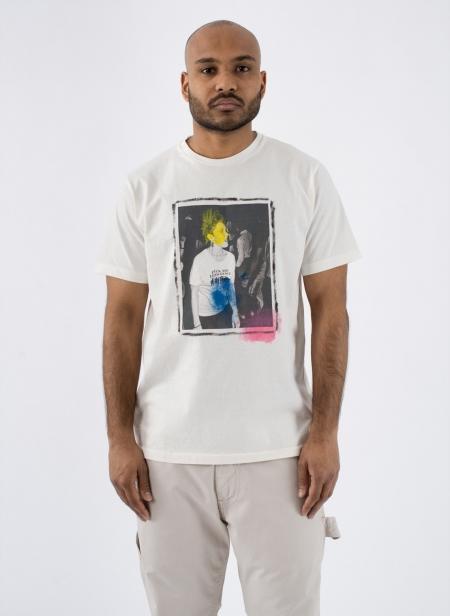 T-shirt S/s Fuck Art Hand Paint