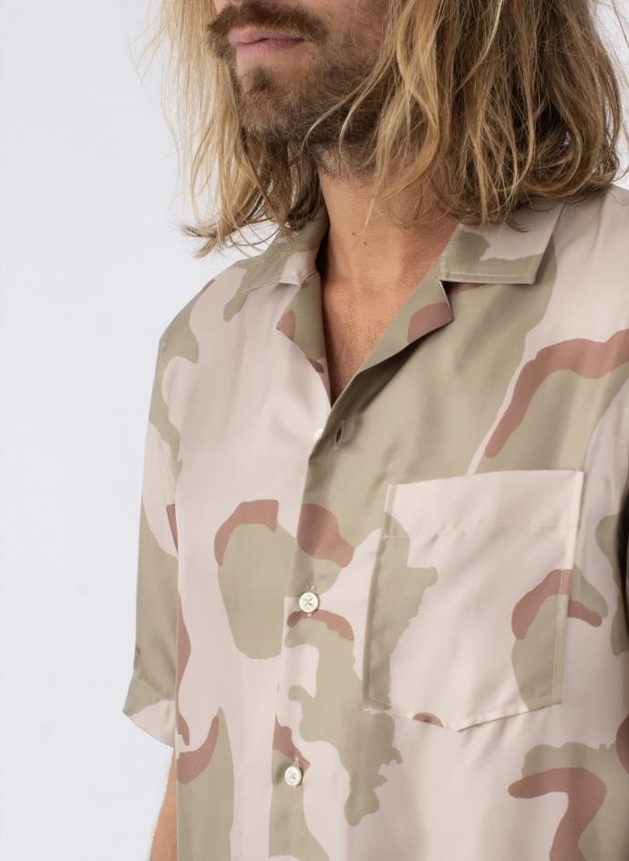 Rangi S/s Silk Camouflage