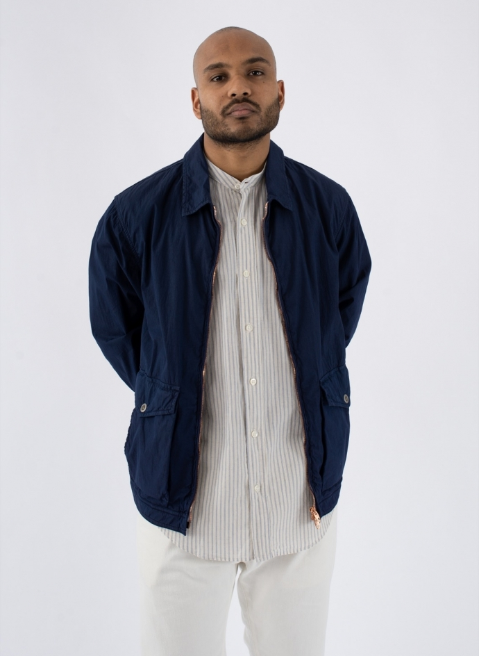 "Jacket ""Kadavu"" Popeline Cotton Nylon Dyed"