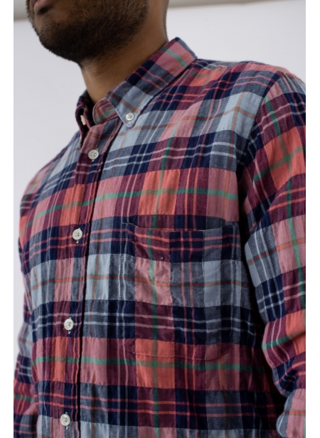 Chemise Chatham Check Washed President's