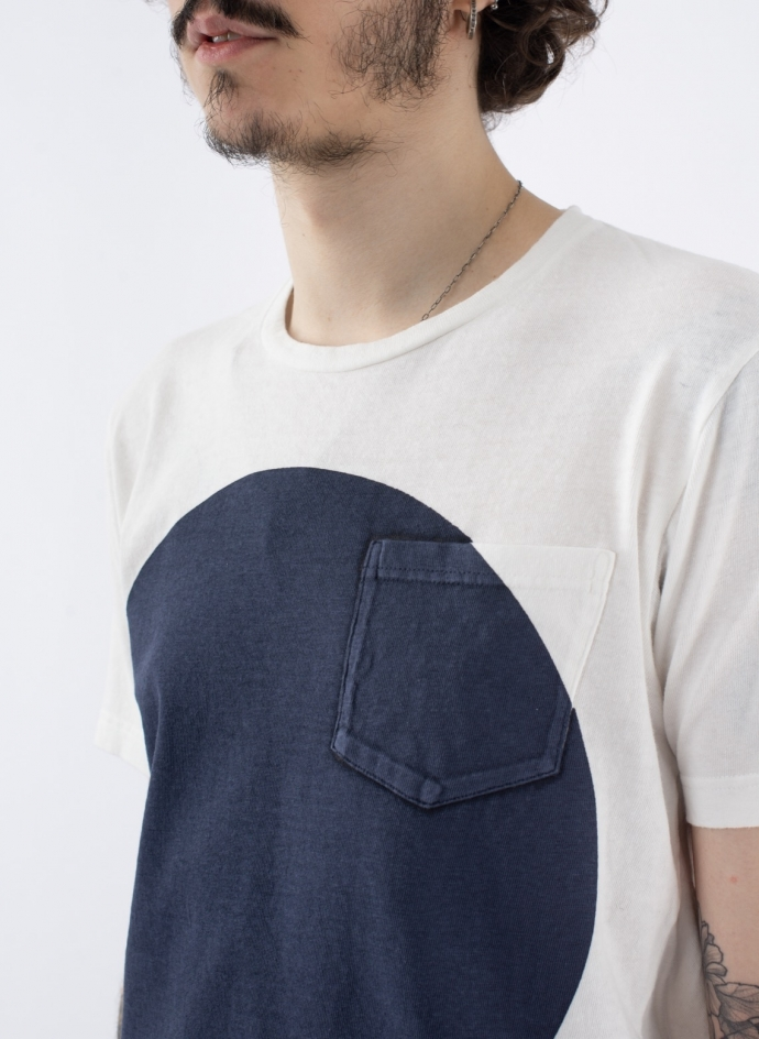 Big Circle Print T-shirt