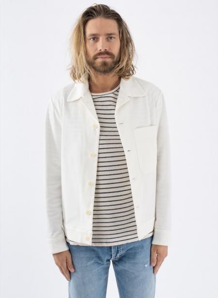 Overshirt Camoma White