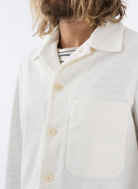 Overshirt Camoma White