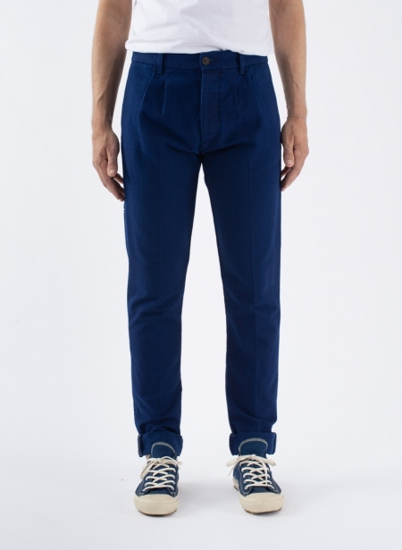 Pences 17 Indigo Japanese Canvas Selvedge