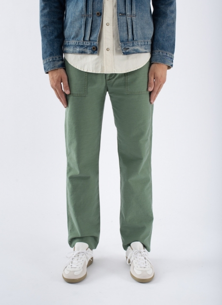 Original Fatigue Japanese Reverse Sateen Military Green
