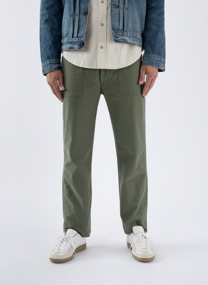 Original Fatigue Japanese Reverse Sateen Olive