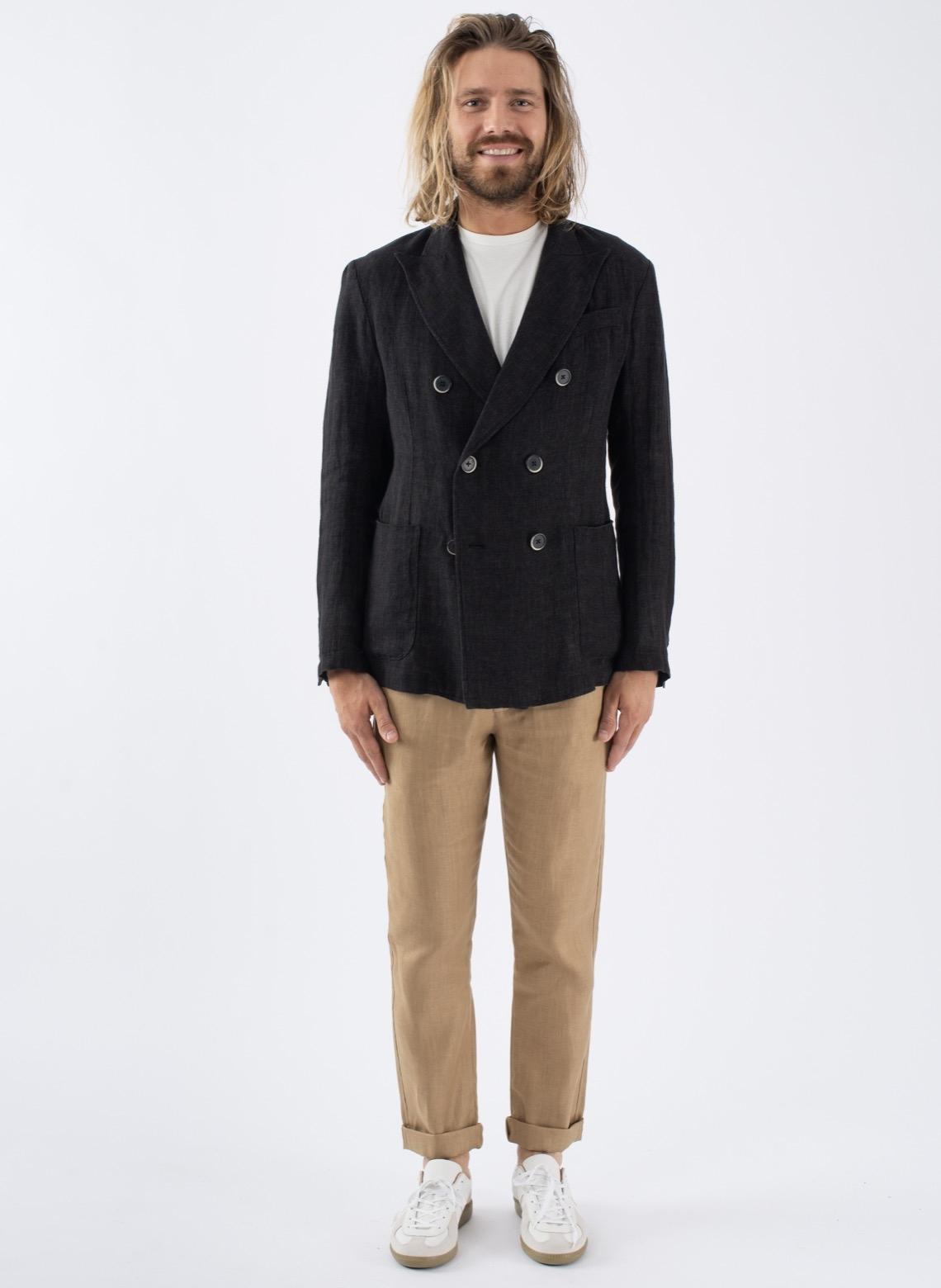 détaillant en ligne ee28c 45a30 Elevation Store Paris - Pantalon Lin Japonais Chevron