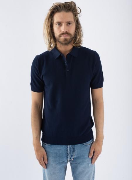 Short Sleeve Textured Polo