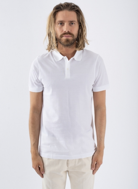 Short Sleeve Pique Polo