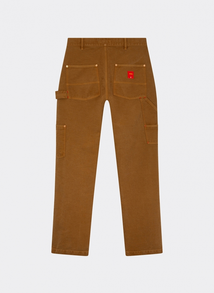 "Pantalon "" Carpenter "" en Twill Coton-Soie Japonais"