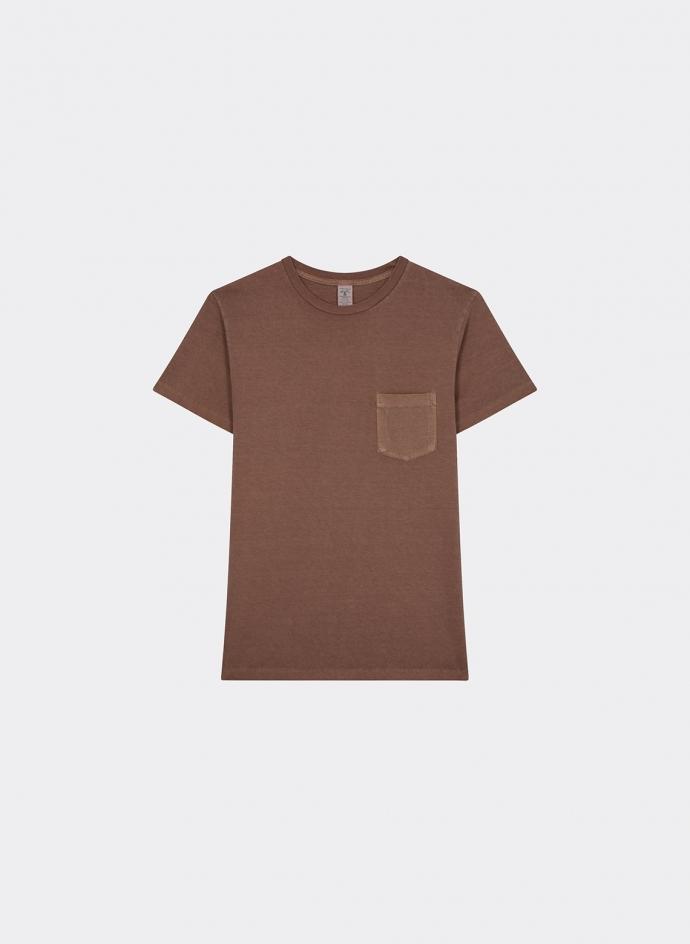 Tshirt Pigment Dyed Avec Poche