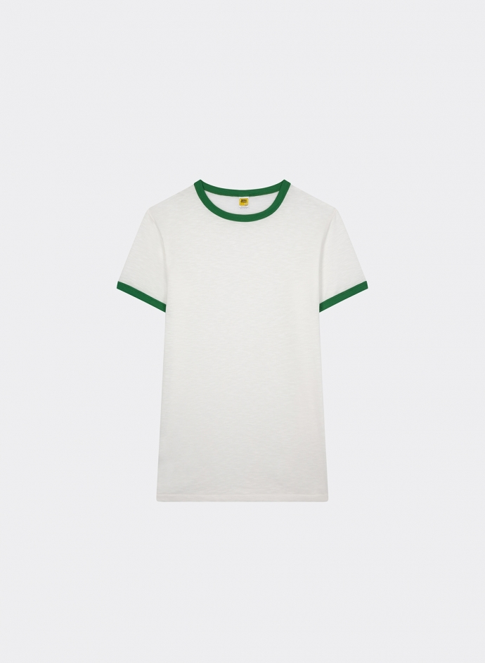 Rolled Ss Ringer Tee