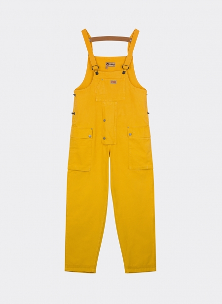 Naval Dungarees Garment Dyed Canvas