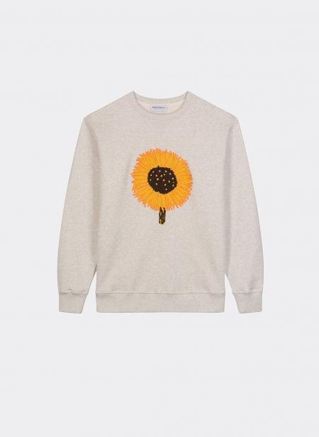 Sweatshirt Crew Sunflower