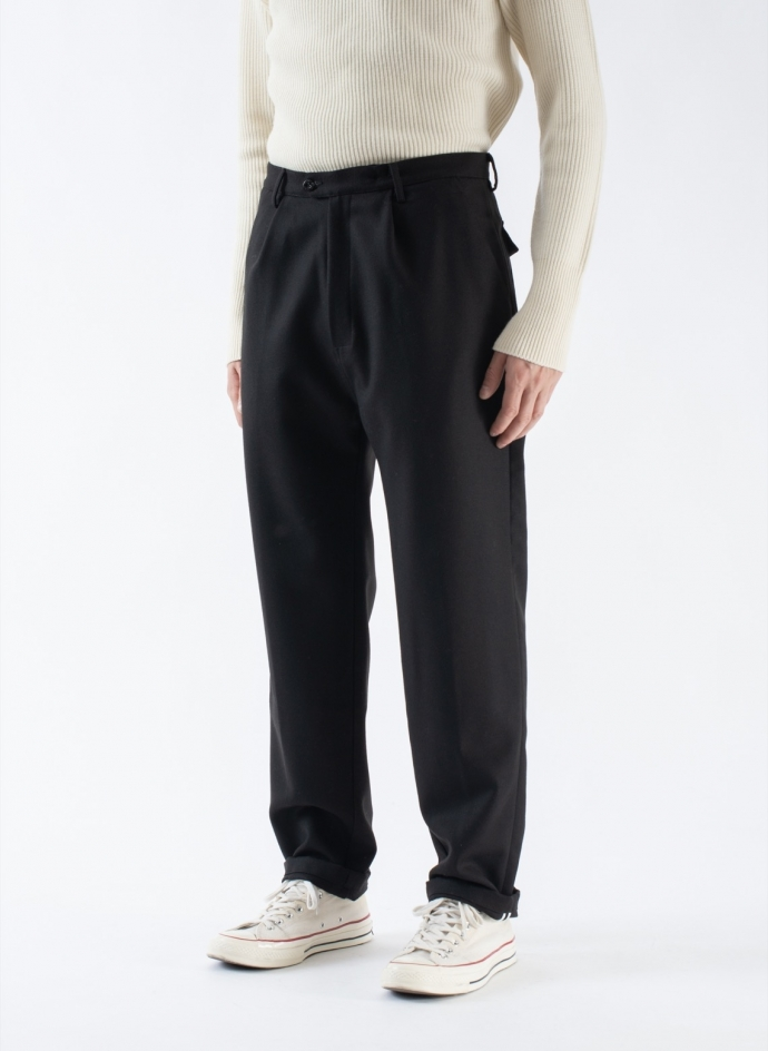Wide Trousers Swool Navy