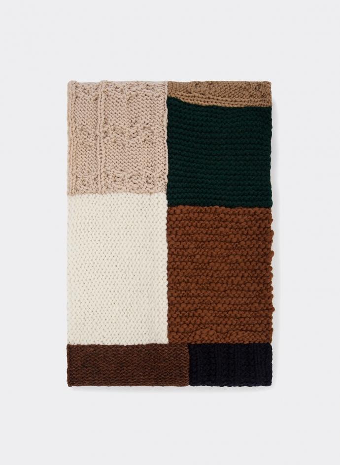 Scarf Patch Multigauge Soft Shetland