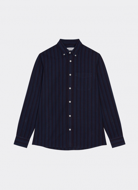 Button Down Shirt Japanese Stripe