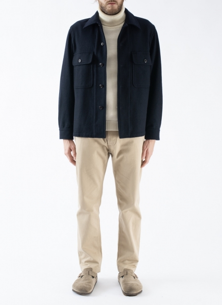 Imperial Cpo Jacket Melton Wool