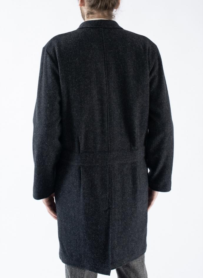 Wide Coat in Wool