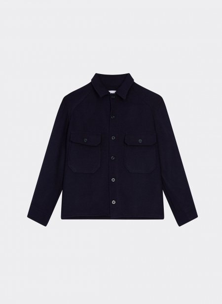 Jacket Shirt in Wool