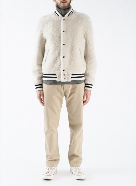 Varsity Jacket Shearling