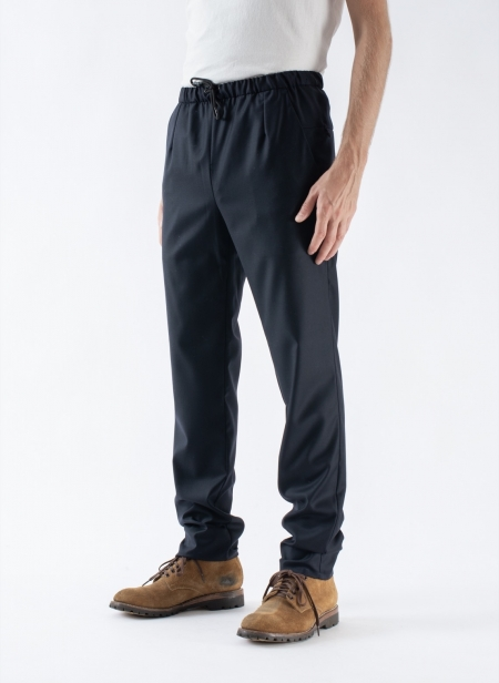 Travel Trousers Superfine Loro Piana Wool