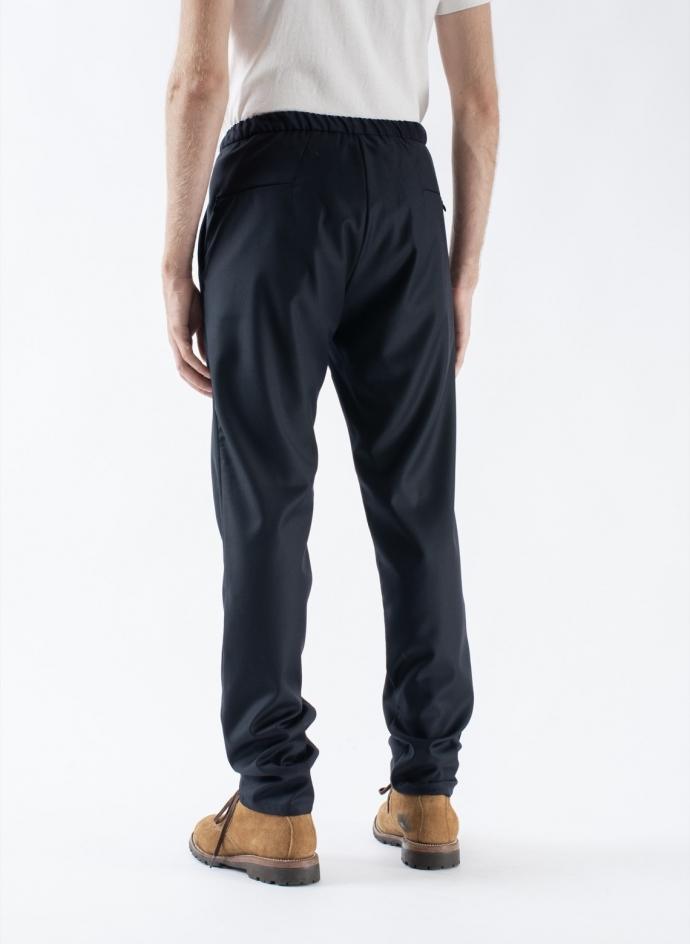 Travel Trousers Superfine Loro Piana Wool