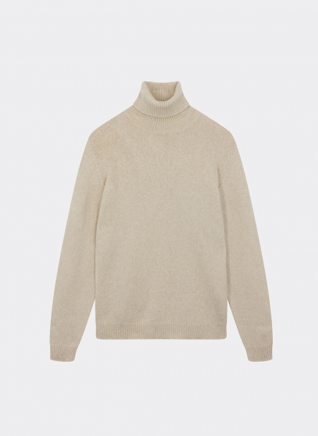 Pull Col Roule Baby Camel