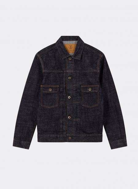 Type 2 Monster Jacket 16.5 Oz Selvedge Denim