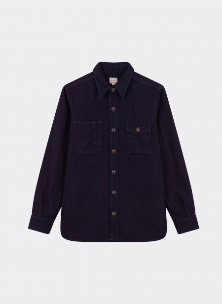 Heavy Indigo Dobby Work Shirt