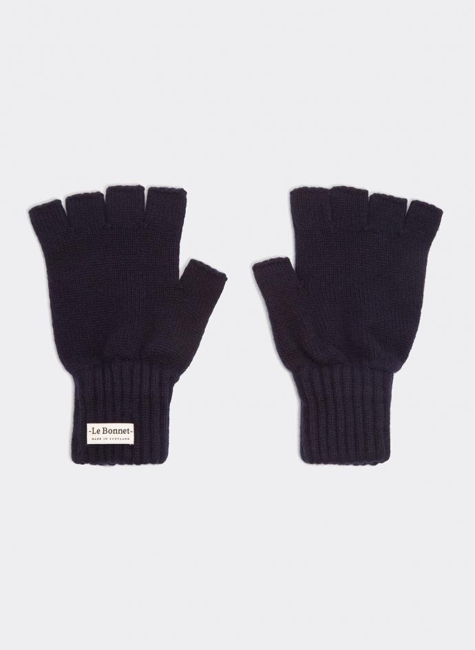Gloves Fingerless Lambswool An Gora