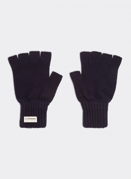 Gloves Fingerless Lambswool An Gora