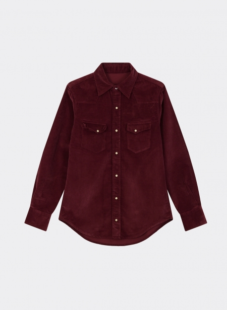 Western Shirt Corduroy