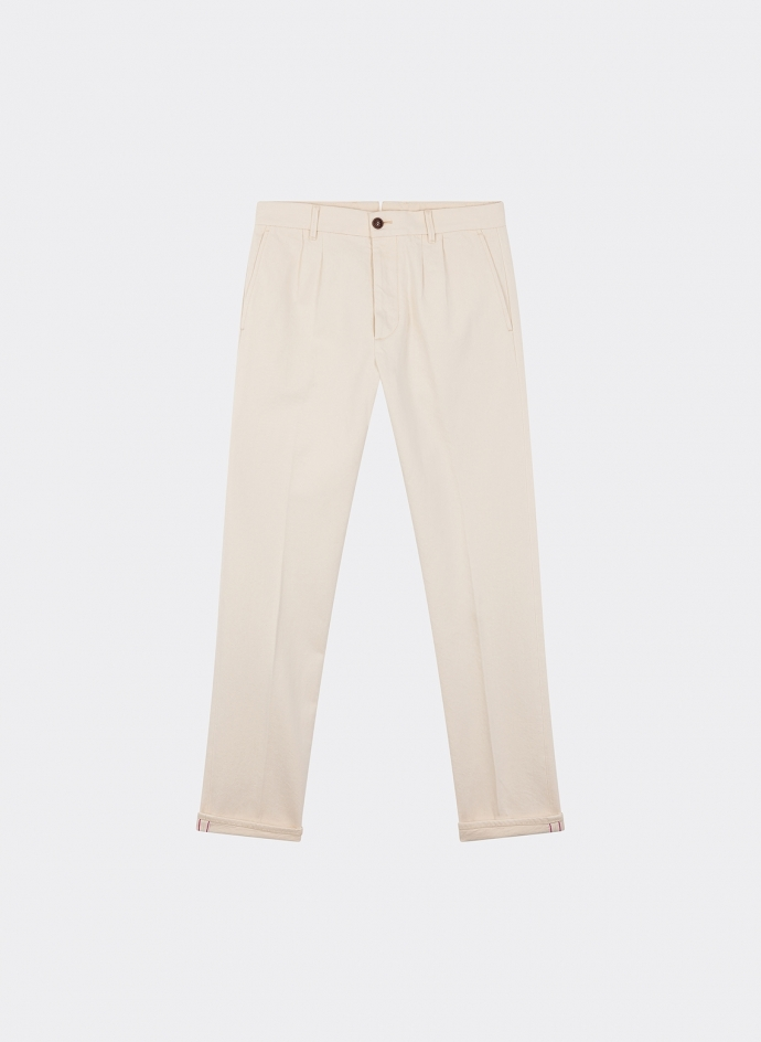 Pences 19 Bull Denim Off White